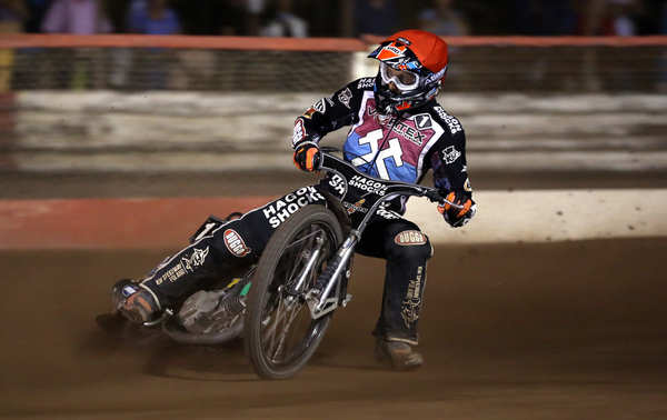 Lakeside Hammers vs Poole Pirates, Elite League Speedway at the Arena Essex Raceway, Thurrock, England - 21 Aug 2015