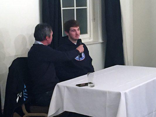 Kelvin Tatum interviews George Hunter of the Lakeside Hammers