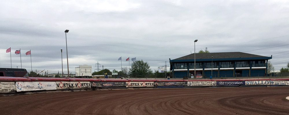 Lakeside Hammers Air Fence Sponsorship 1st bend