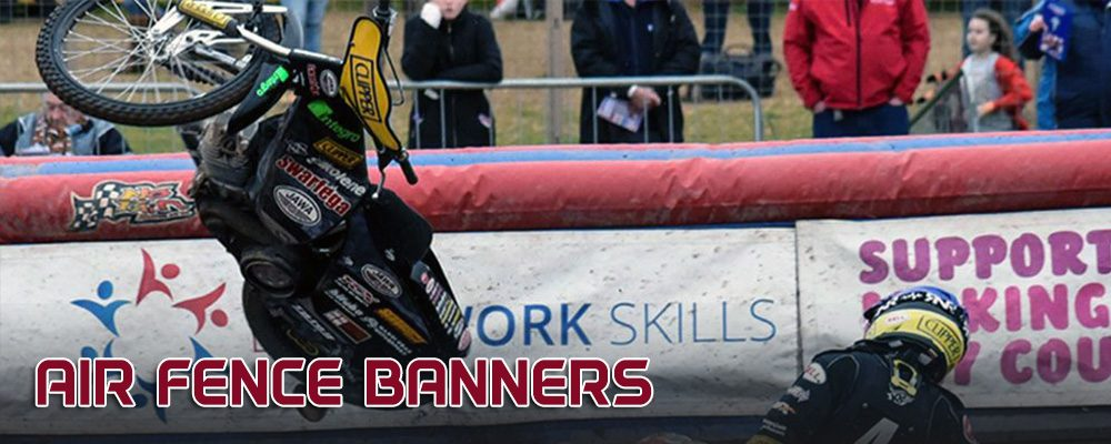 Lakeside Hammers Speedway_Sponsorship and advertising_Air Fence Banners