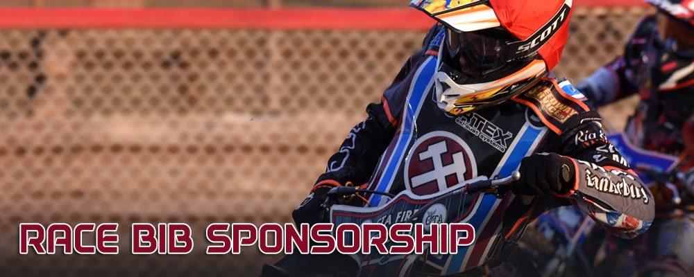 Lakeside Hammers Speedway_Sponsorship and advertising_Race bib sponsorship