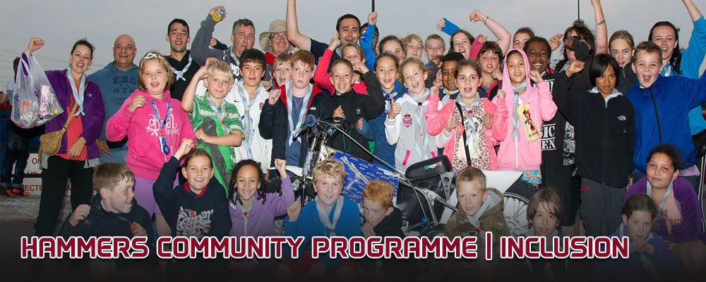 Lakeside Hammers Community Programme_Inclusion