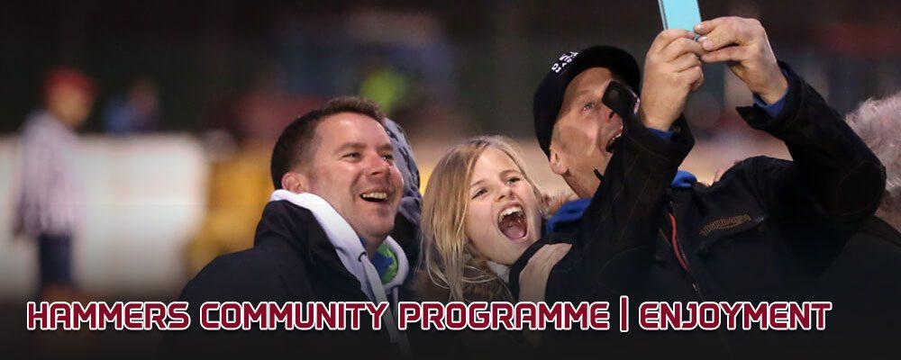 Lakeside Hammers Community Programme_enjoyment