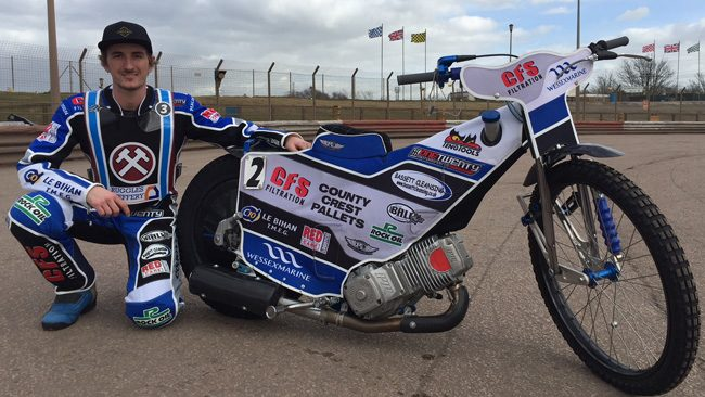 Adam Ellis Lakeside Hammers Speedway team