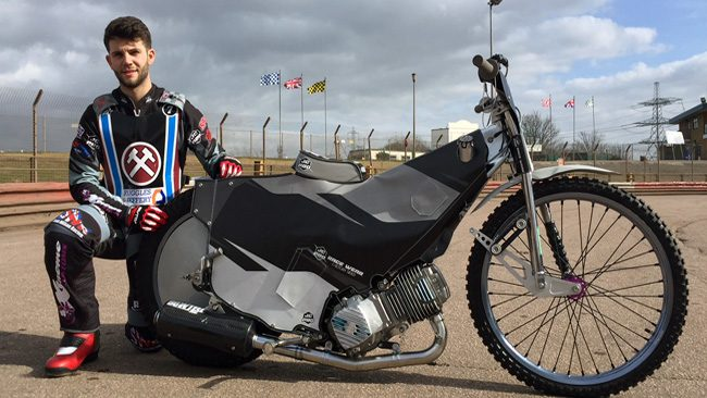 Alfie Bowtell_Lakeside Hammers Speedway team