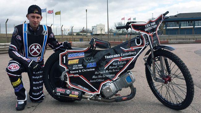 Ben Morley_Lakeside Hammers Speedway team