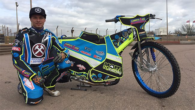 Nick Morris Lakeside Hammers Speedway Team 1