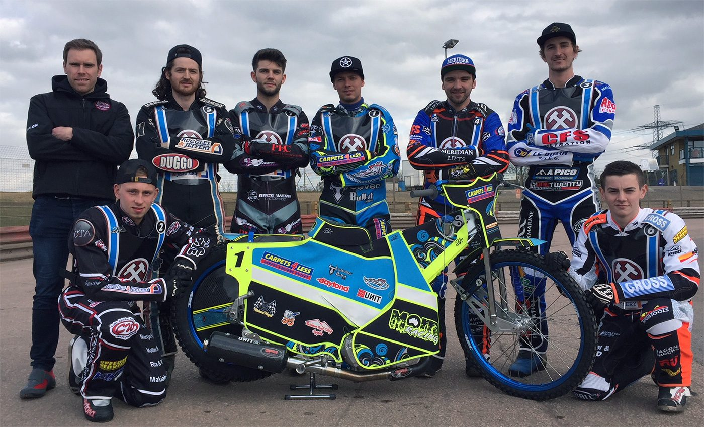 The Lakeside Hammers Speedway Team