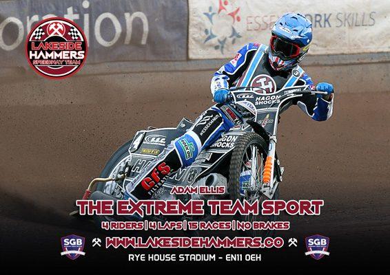 Adam Ellis Lakeside Hammers Speedway Team