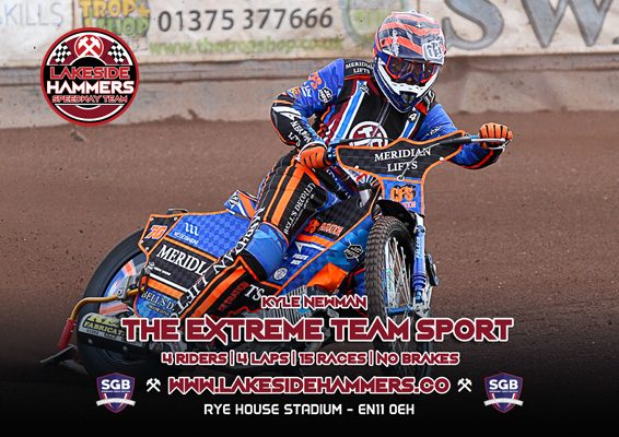 Kyle Newman Lakeside Hammers Speedway Team